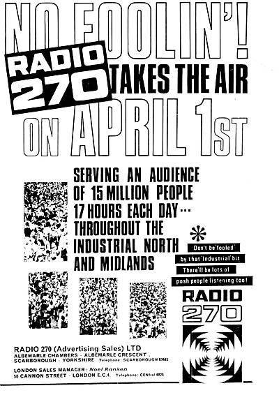 Radio 270 launch advert