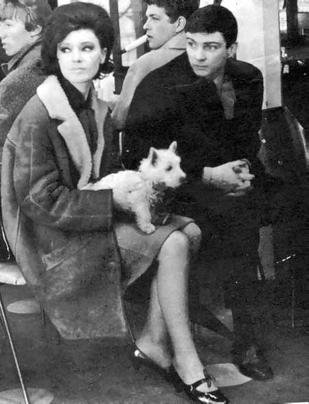 Cathy Spence with Gene Pitney