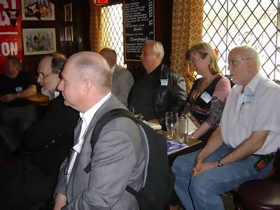 John Aston, Mark Sloane, Tony Monson and others