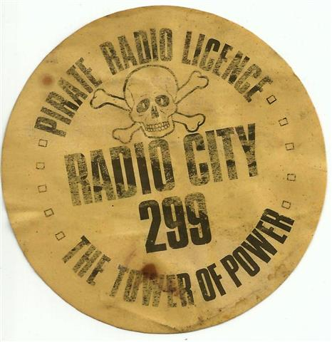 Radio City sticker