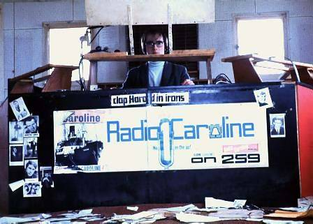 Norm in the Caroline North studio