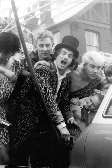 Screaming Lord Sutch and colleagues