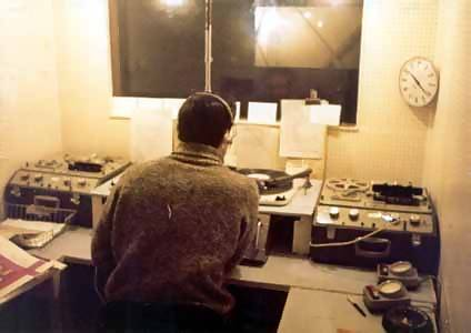 Paul Beresford in the studio