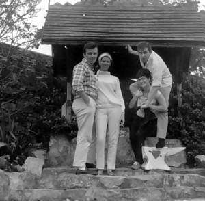 Don, Bob Stewart and their spouses on holiday