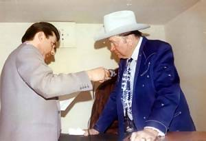 Don Allen and Tex Ritter