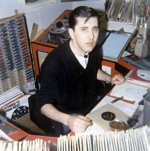 Don Allen in the studio