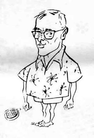 caricature of Harry Putnam