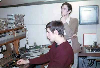 Kenny Everett and Dave Hawkins