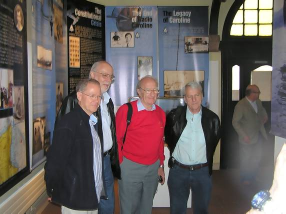 Nick Bailey, John Aston, Alan Turner, Trevor Grantham