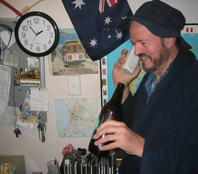 Jack Curtiss on the phone from his home in Australia