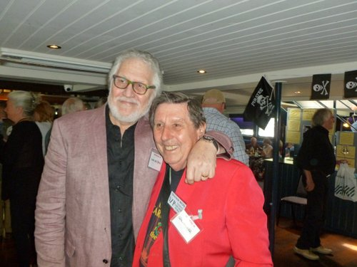 Graham Webb and Dave Lee Travis