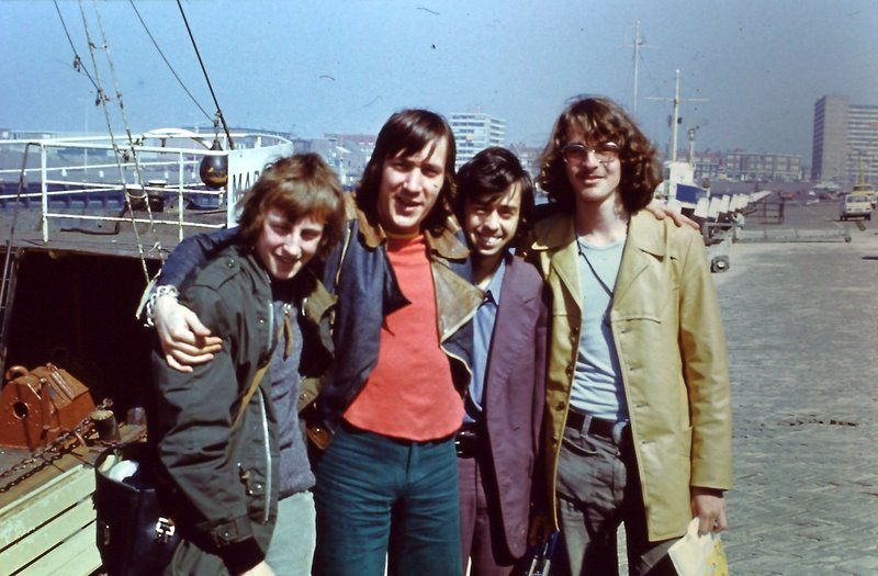 Tony Allan, Graeme Kay and fans