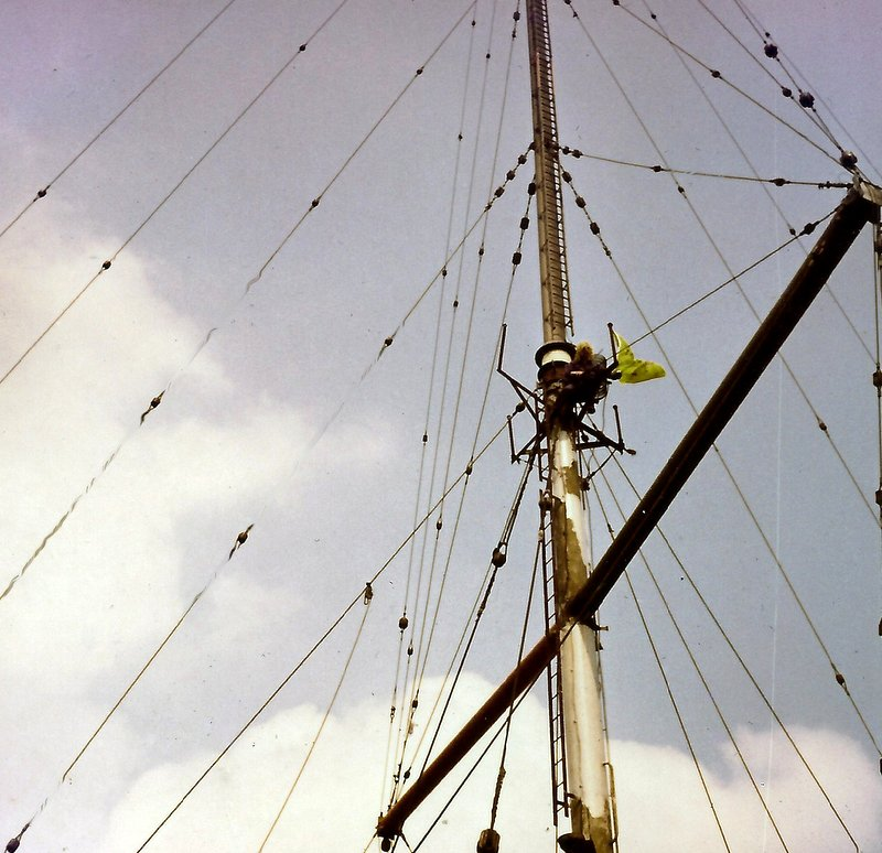 mast of mv Mi Amigo