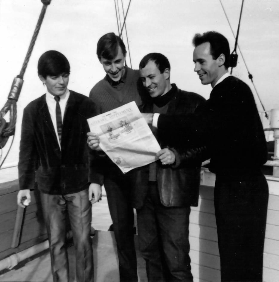 Tony Blackburn, Bryan Vaughan, Doug Kerr, Keith Martin