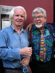 Rolf Harris and Ronan O'Rahilly
