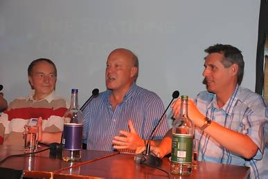 Brian Cullingford, Guy Hamilton and Mark West
