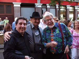 Graham Webb, Norman St.John, Rolf Harris