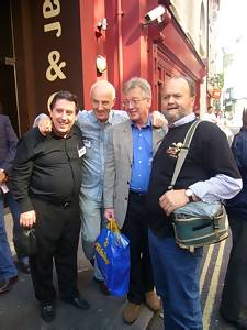 Graham Webb, Ray Teret, Mike Ahern, Keith Hampshire