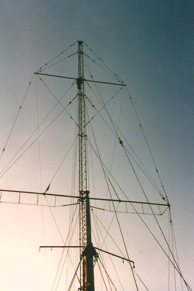 building the mast