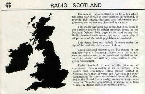 Radio Scotland booklet, page 2