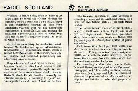 Radio Scotland booklet, page 9