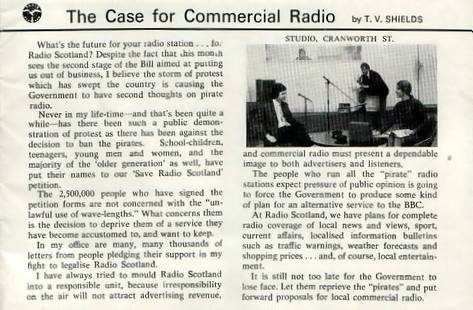 Radio Scotland booklet, page 15