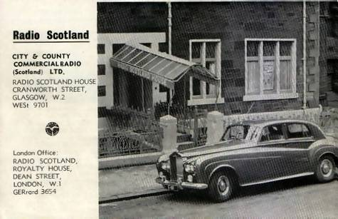 Radio Scotland booklet, back cover