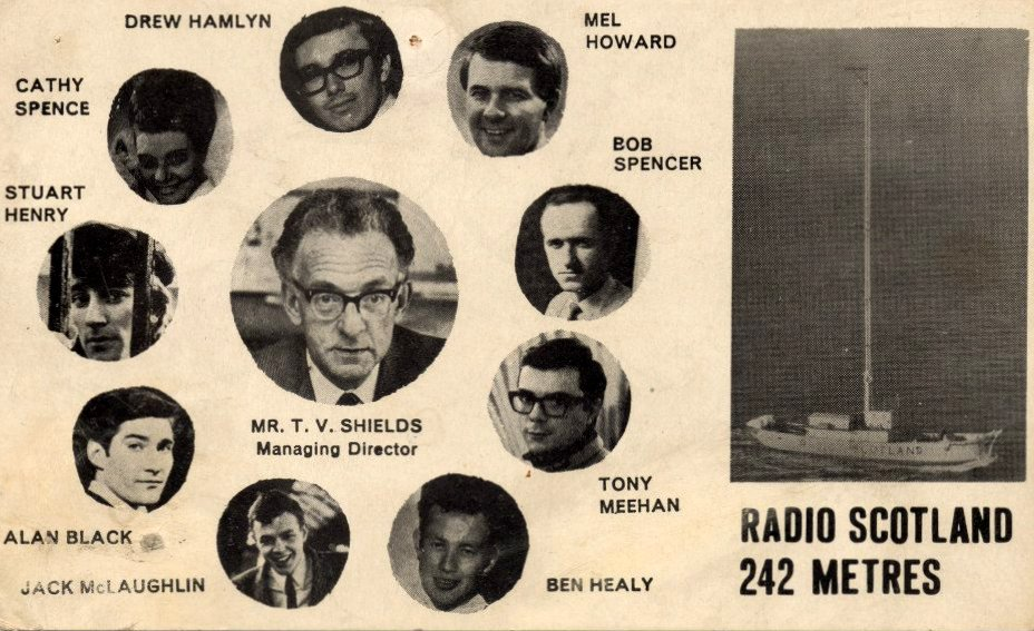 Radio Scotland promotional card