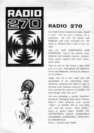 Radio 270 booklet, page 2