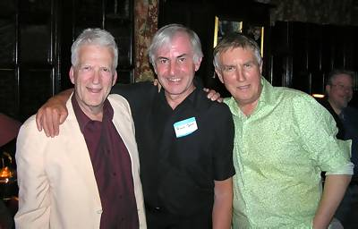 Phil Martin, Roger Day and Johnnie Walker