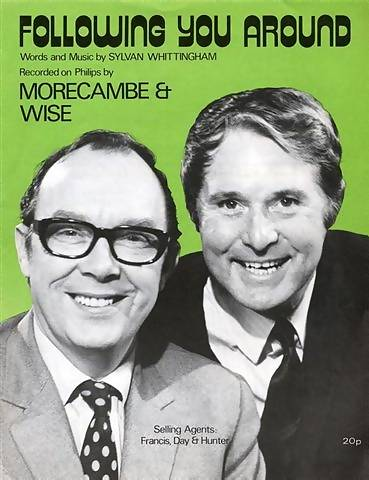 Sheet music for Morecambe and Wise theme