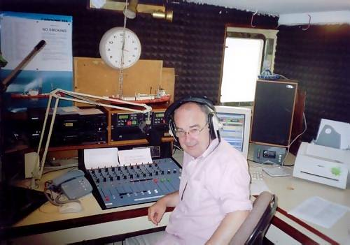 John Patrick on the air